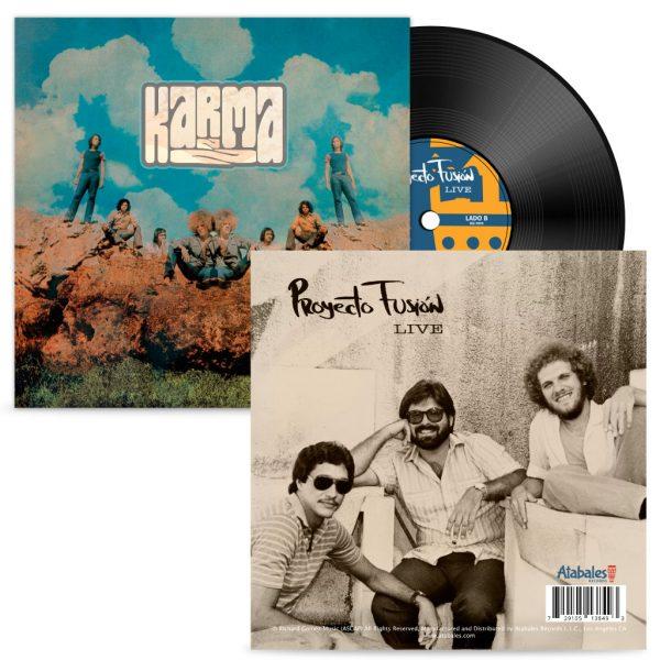 Richard Gomez's Karma/Proyecto Fusion Live Black LP